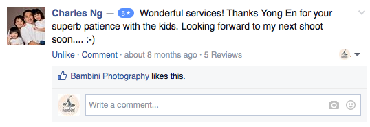 Facebook-review-bambini-photography-testimony-5-stars