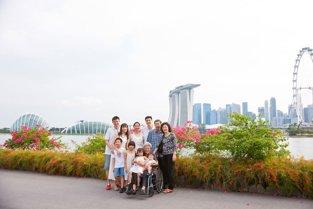 Garden By The Bay East top 5 favourite outdoor locations for family and maternity